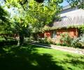 Сдается дом в Анапе красивый зеленый двор