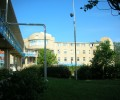 Территория санатория Анапа находится у самого моря