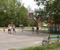 Территория санатория Анапа детская игровая площадка