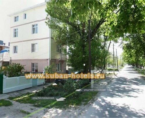 Гостевой дом на Кати Соловьяновой