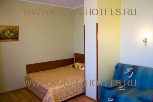 Частный гостевой дом в Анапе четырехместный номер